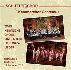 Schütte-Chor und Kammerchor Cantemus Bückeburg