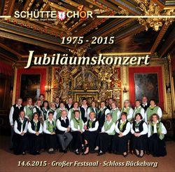 Jubiläumskonzert 40 Jahre Schütte-Chor