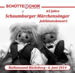 Jubiläumskonzert 65 Jahre Schaumburger Märchensänger
