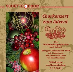 Chorkonzert zum Advent 2011