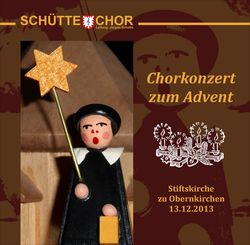 Chorkonzert zum Advent 2013