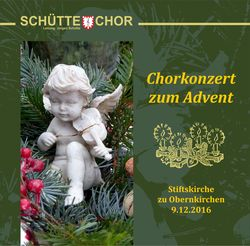 Chorkonzert zum Advent 2016