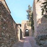 Aufstieg zum Alcazaba
