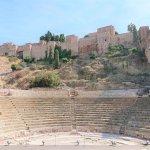 Römisches Theater am Fuß des Alcazaba