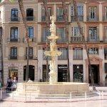 Fuente de Génova am Plaza de la Constitución