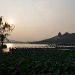 Sonnenuntergang am Sommerpalast