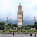 Drei Pagoden des Chongsheng-Tempels