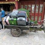 Kofferabtransport vom Hotel in Lijiang