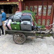 Kofferabtransport vom Hotel in Lijiang