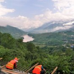 Blick auf den Yangtze