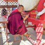 Mönch in der Freizeit