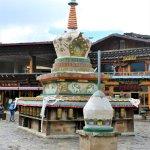 Weiße Stupa in der Altstadt