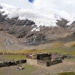Unterhalb des Karolha Gletschers