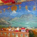 Kunst im Gyantse-Hotel