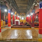 Gebetshalle der Mönche