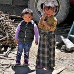 Spontaner Besuch bei einer tibetischen Familie