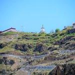 Platz auf dem Berg zur Geier-Bestattung