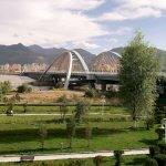 Brücke über den Lhasa-Fluss