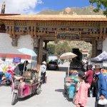 Eingang zum Sera-Kloster bei Lhasa