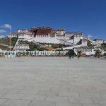 Platz vor dem Potala-Palast