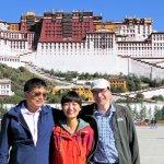 Erinnerungsfoto mit unseren Reiseleitern