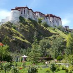 Potala-Palast von hinten