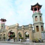 Eine der wichtigsten Moscheen in China