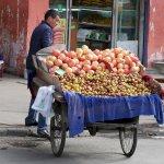 Granatäpfel-Stand