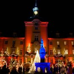 Das Schloss im Weihnachtsglanz