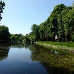 Blick zum Schlosspark