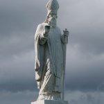 Papst am Hill of Tara
