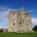 Trim Castle - größtes normannisches Kastell in Irland (12. Jahrhundert)