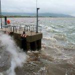 Stürmische Überfahrt nach Magilligan / Nordirland