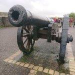 Alte Kanone auf dem Stadtwall