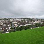 Blick auf Derry / Londonderry