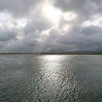 Himmel, Sonne und Meer auf der Überfahrt nach Tory Island