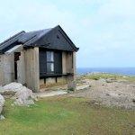Derek Hill's Hut - Malhaus des berühmten britischen Malers Derek Hill