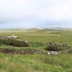 Blick vom Hostel über die Landschaft