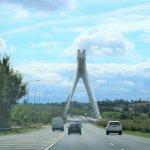 River Boyne Bridge - Auf der M1 nach Dublin