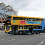 Doppeldecker-Bus in Dublin