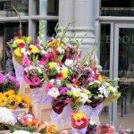 Blumenstand in der Grafton Street, Dublin