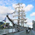 Die Cuauhtémoc, mexikanisches Segelschulschiff
