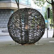 Skulptur Universal Links on Human Rights, Dublin
