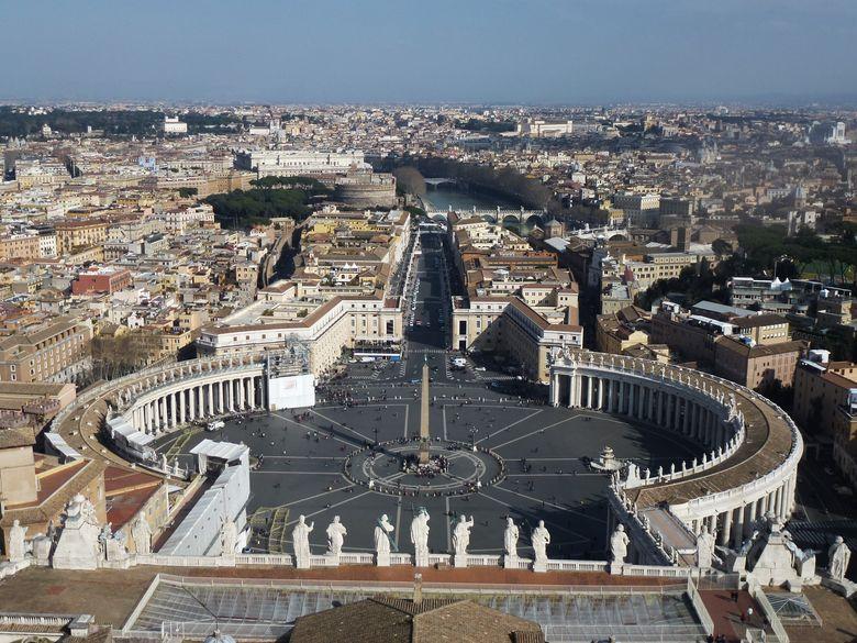 Rom zwischen den Päpsten