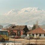 Stadt Peja (Pec), Kosovo 2003