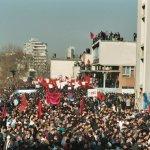 Studentenproteste, Pristina, Kosovo 2003