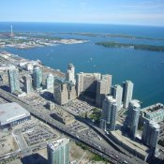 Blick vom CN Tower, Kanada 2006