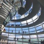 Deutscher Bundestag, Reichstagskuppel, Berlin 2007