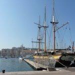 Hafen von Marseilles, Frankreich 2009