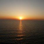 Sonnenuntergang auf dem Mittelmeer, 2009